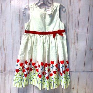 Gymboree Tulip Field Sleeveless Spring Dress 👗